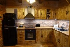 Kuchyňa kartáčovaná - realizácia