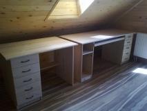 Písací stolík - zostava