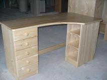 Písací stolík do rohu