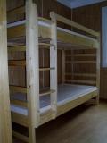 Poschodová posteľ Junior 200x90 rozkladacia