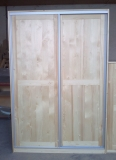 Skrina dvojdverová - posuvné dvere