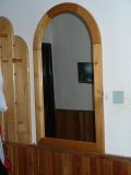 Zrkadlo polooválové